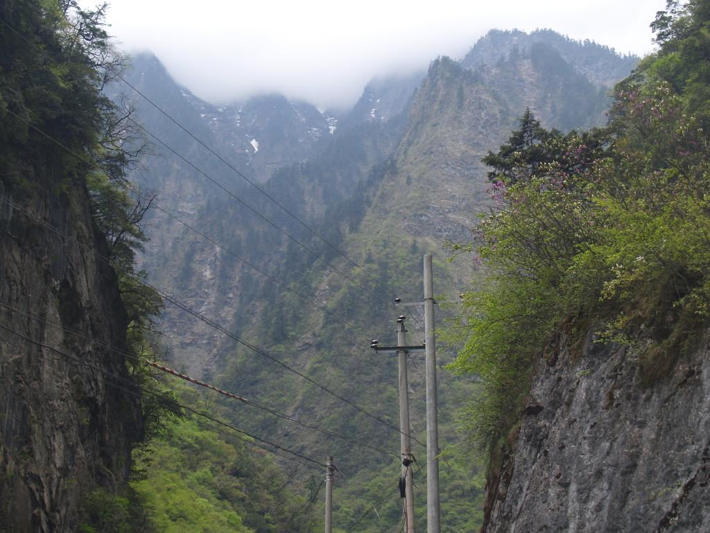 Дорога от ущелья