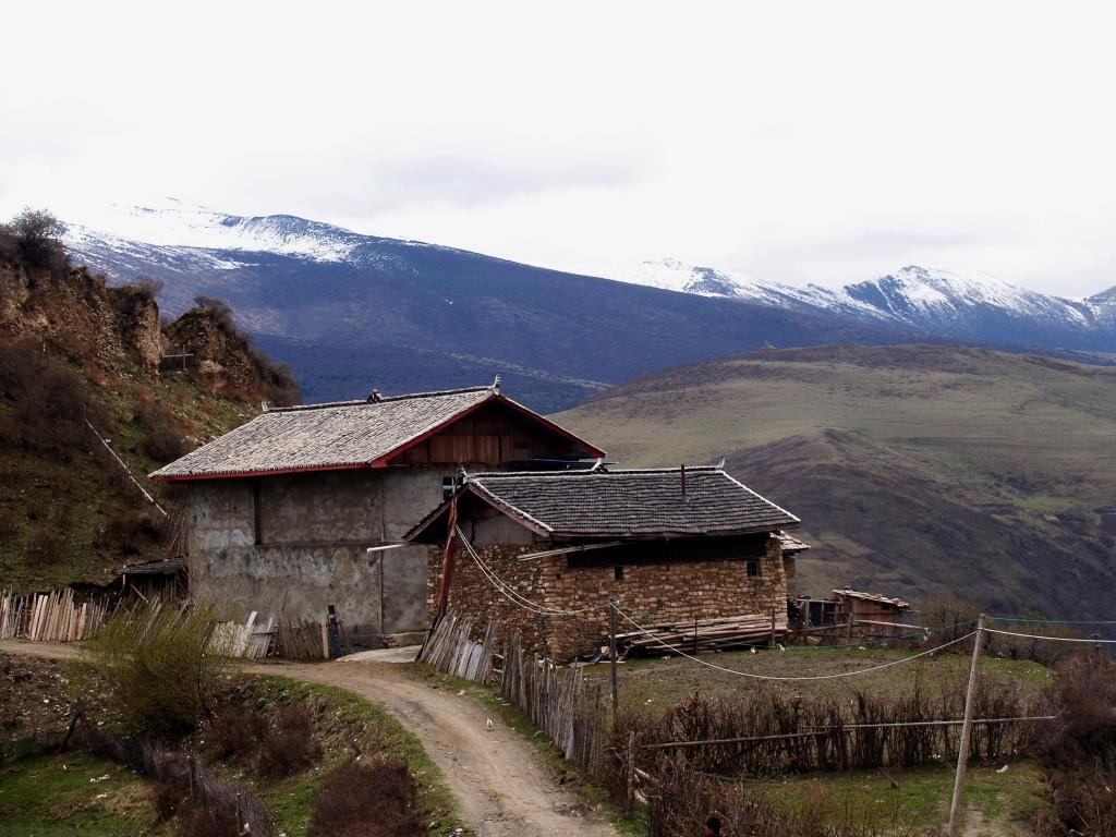 Горные тибетские поселения